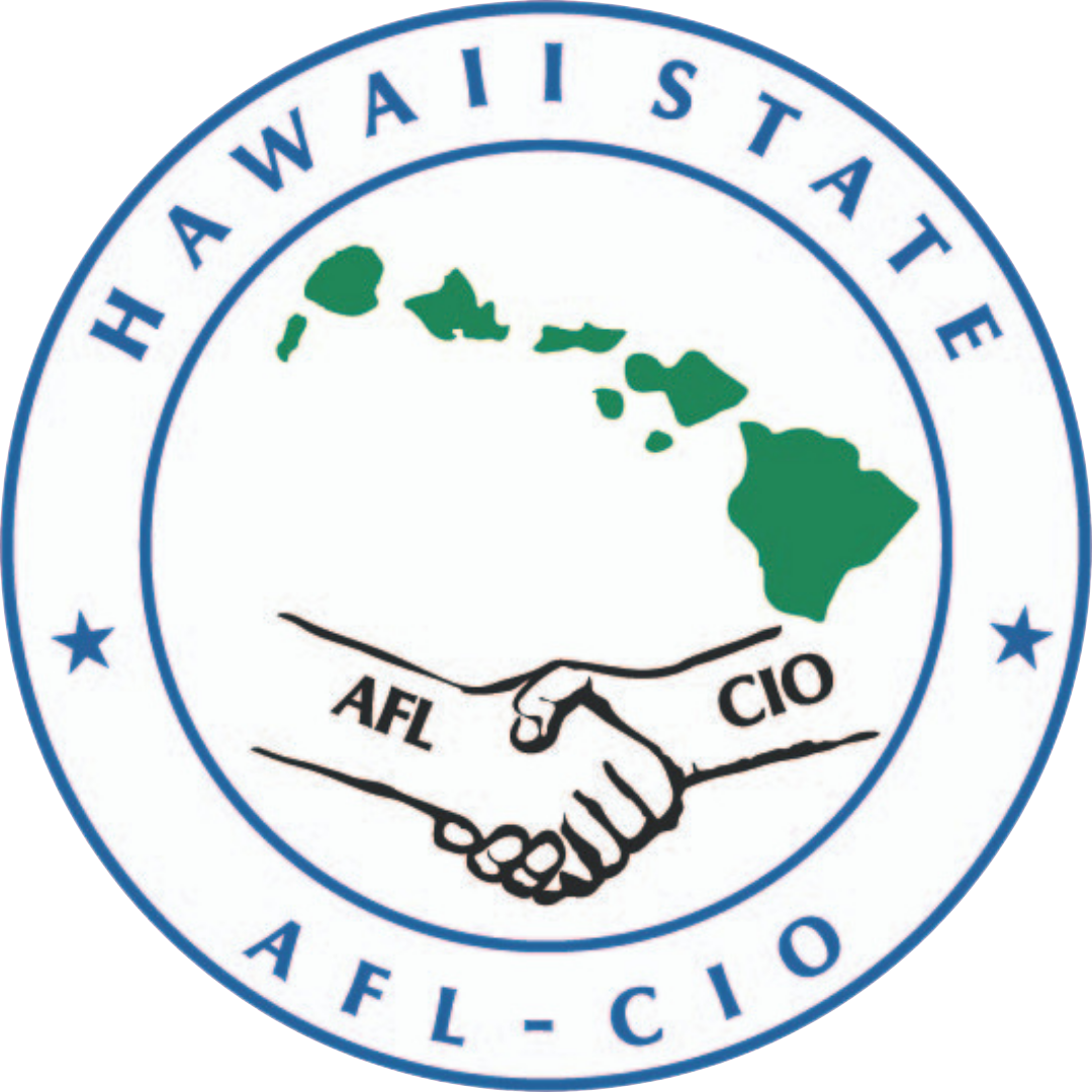 Hawaii State AFL-CIO Logo