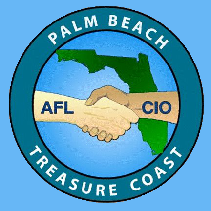 Palm Beach-Treasure Coast AFL-CIO Logo